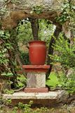 Hacienda Garden Guanajuato Royalty Free Stock Photo