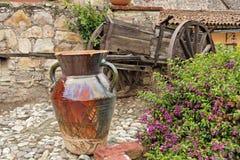 Hacienda Garden Guanajuato Stock Image