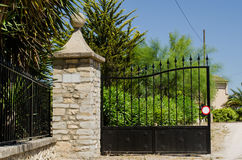 Hacienda gate Royalty Free Stock Images