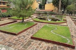 Hacienda Geometric Garden Guanajuato Stock Photos