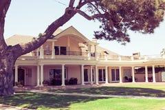 Hacienda house - Coronado, San Diego USA Royalty Free Stock Photos