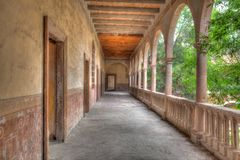 Hacienda Jaral DE Berrios in Guanajuato Mexico royalty-vrije stock afbeeldingen