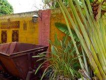 Hacienda Mexico Restaurant architecture garden Stock Photos