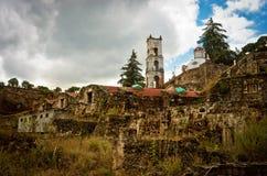 Hacienda Santa Maria Regla, Hidalgo méxico Imagen de archivo libre de regalías