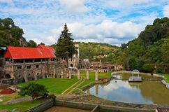 Hacienda Santa Maria Regla, Hidalgo méxico Imagenes de archivo
