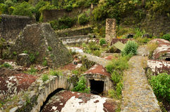 Hacienda Santa Maria Regla, Hidalgo méxico fotografía de archivo libre de regalías