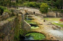 Hacienda Santa Maria Regla, Hidalgo mexico stock foto's
