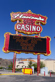 Hacienda Sign in Boulder City, NV on May 13, 2013 Royalty Free Stock Photography