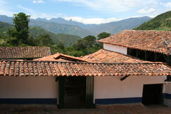 Hacienda van de koffie, Venezuela Royalty-vrije Stock Foto's