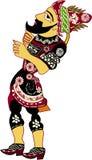 Hacivat Puppet. (Historical Turkish Shadow Play Character Stock Illustration