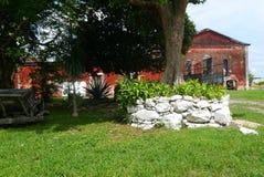 Hacjendy finca rancho Meksyk Merida gospodarstwa rolnego kolonialny Wakacyjny zdrój Yucatan Obrazy Royalty Free