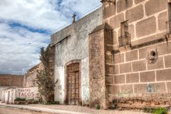 Hacjendy Jaral De Berrios w Guanajuato Meksyk obrazy royalty free