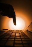 hack дела Стоковая Фотография RF