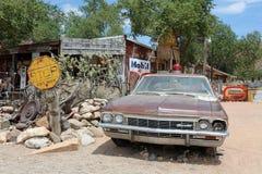 Hackberry op Route 66 Stock Afbeelding