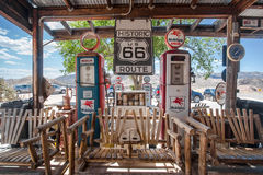 Hackberry Route 66 Royaltyfria Bilder