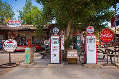 Hackberry Route 66 Royaltyfri Foto
