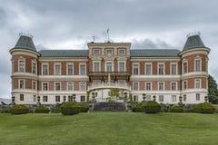 Hackeberga castle in Skane Stock Photos