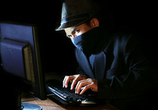 access granted, hacker online Stock Photography