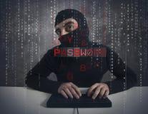Hacker royalty free stock photography