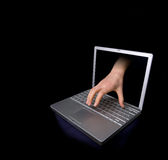 Hacker Lizenzfreie Stockfotografie