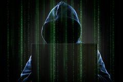hacker Fotografia Stock