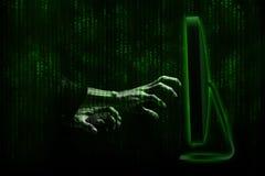 hacker Obraz Stock