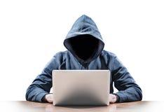 hacker Stockfoto