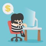 hacker Fotografia de Stock Royalty Free