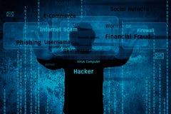 hacker fotos de archivo libres de regalías