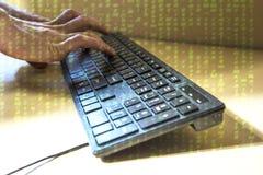 hacker Fotografía de archivo libre de regalías