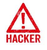 hacker ilustración del vector