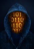 Hacker. Abstract mysterious hacker concept design stock photos