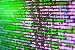 Hacker api text on the computer. Abstract source code background. Hacker api text on the computer stock illustration