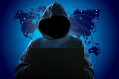 Hacker royalty free stock photo