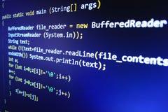 Hacker data theft. Computer virus. Stock Photo
