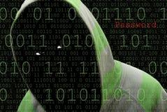 Hacker de computador Foto de Stock