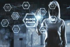 Hacker im Cyberspace Lizenzfreie Stockfotografie