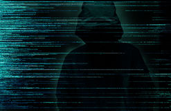 Hacker internet crime concept royalty free stock photography