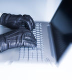 Hacker internet security Stock Photography
