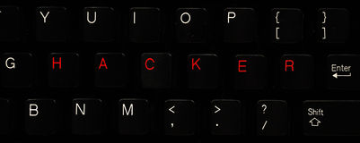 Hacker Keyboard Stock Photos