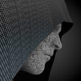 Hacker okapturzający ilustracja wektor