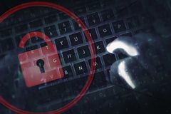 Hacker Proof Online Safety Royalty Free Stock Photo