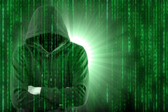 Hacker secutriy steal your data and system Stock Photo