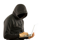 Hacker secutriy steal your data and system Royalty Free Stock Photography