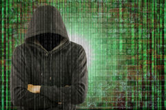 Hacker secutriy steal your data and system Stock Images