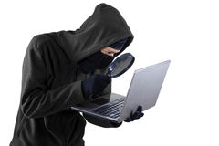 Hacker threat Stock Photo