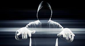 Hacker virtual technology Royalty Free Stock Photos