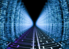 Hacker-Welt Lizenzfreies Stockfoto