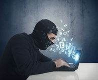 The hacker Royalty Free Stock Image