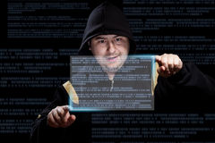 Hacker working Stock Images